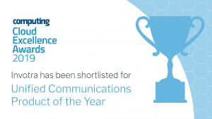 Cloud Excellence Awards 2019 Invotra shortlisted for product of the year