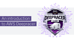 An introduction to AWS DeepRacer with deepracer logo