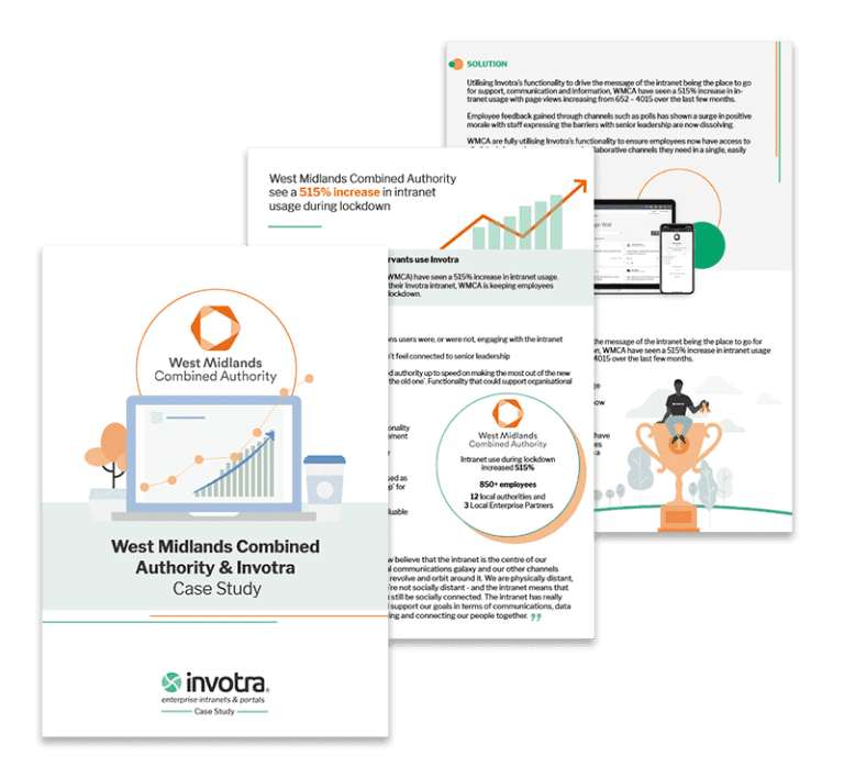 WMCA Case study pages