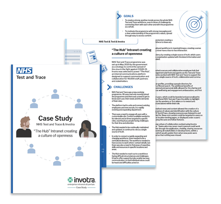 NHS T&T Creating a culture of openness case study pages